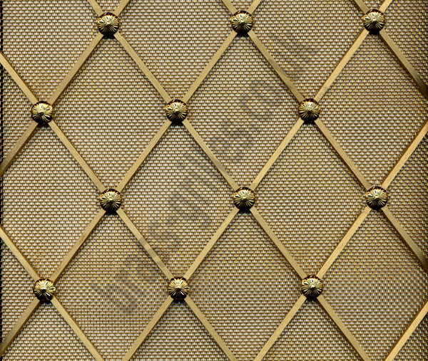 Brass Wire Grille : Radiator grilles by coverscreen uk